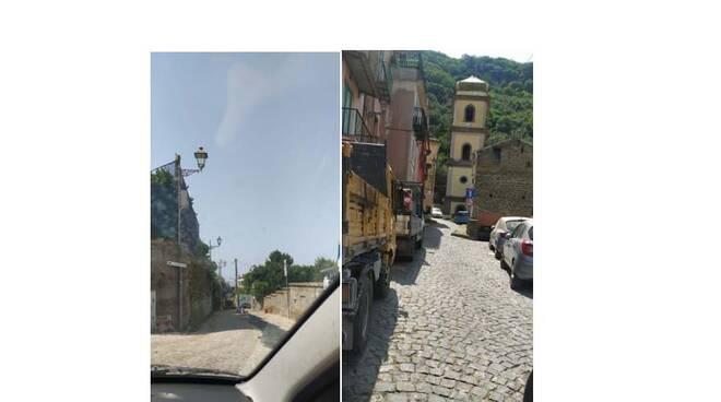 Sant'Agnello, disagi nella frazione di Trasaella per i lavori in corso