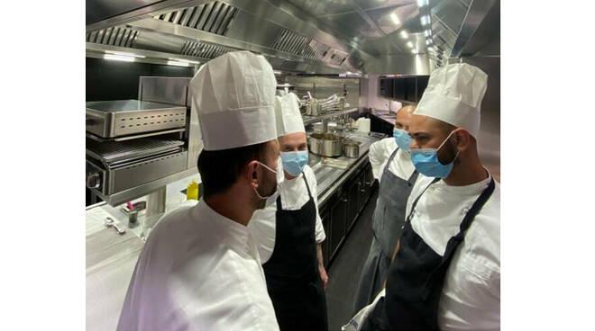 Savio Perna e Domenico Candela, cena a due mani a Positano
