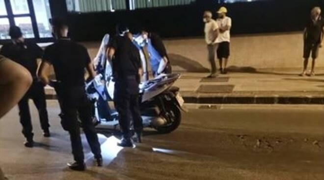 Scafati: travolti da uno scooter, grave un bambino di cinque anni