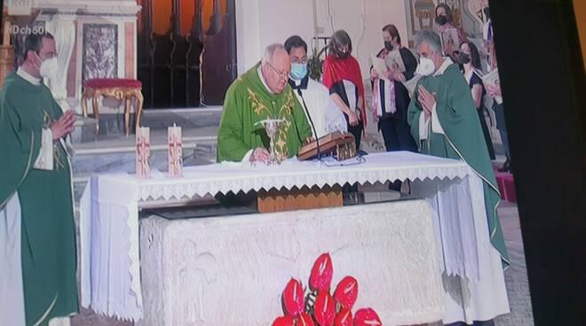 Scala messa con il Vescovo Soricelli su Rai Uno