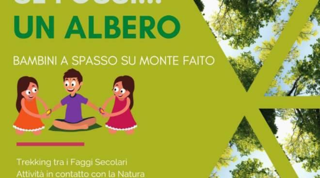 Se Fossi un albero bellissima iniziativa per i bambini e le famiglie al Faito