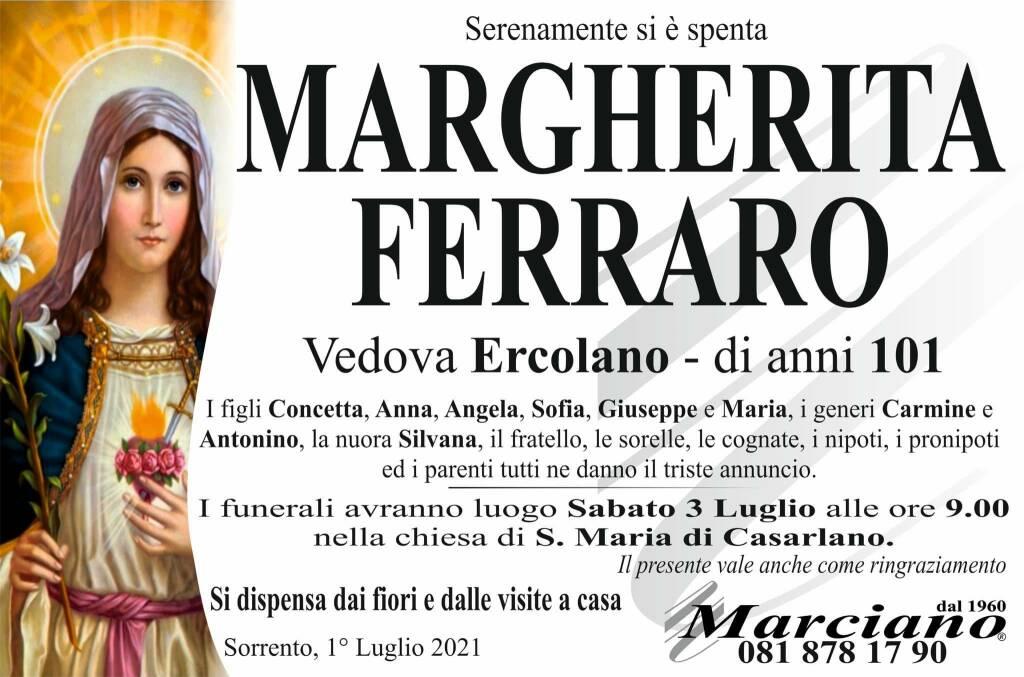Sorrento, all'età di 101 anni ci lascia Margherita Ferraro (vedova Ercolano)