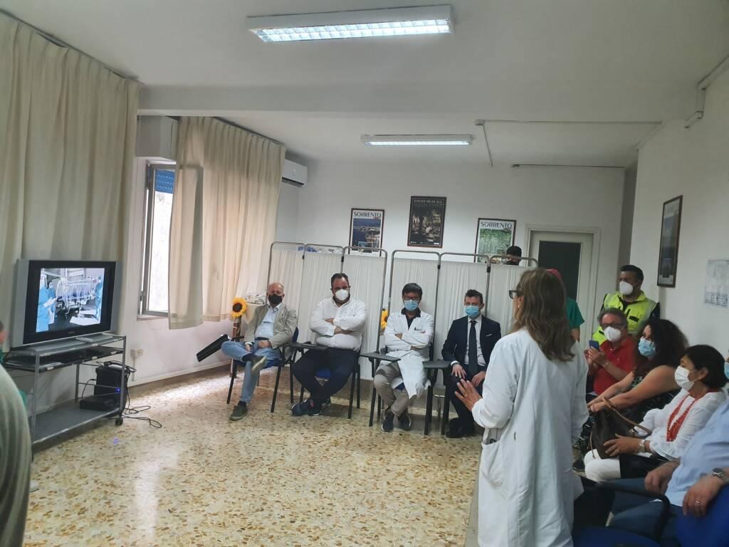 Sorrento: festa al Pronto soccorso, presenti Sindaco ed assessori