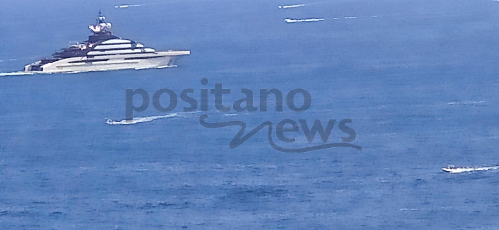 Sorrento/Massa Lubrense: arriva il giga yacht Nord, appena varato a Lurssen in Germania