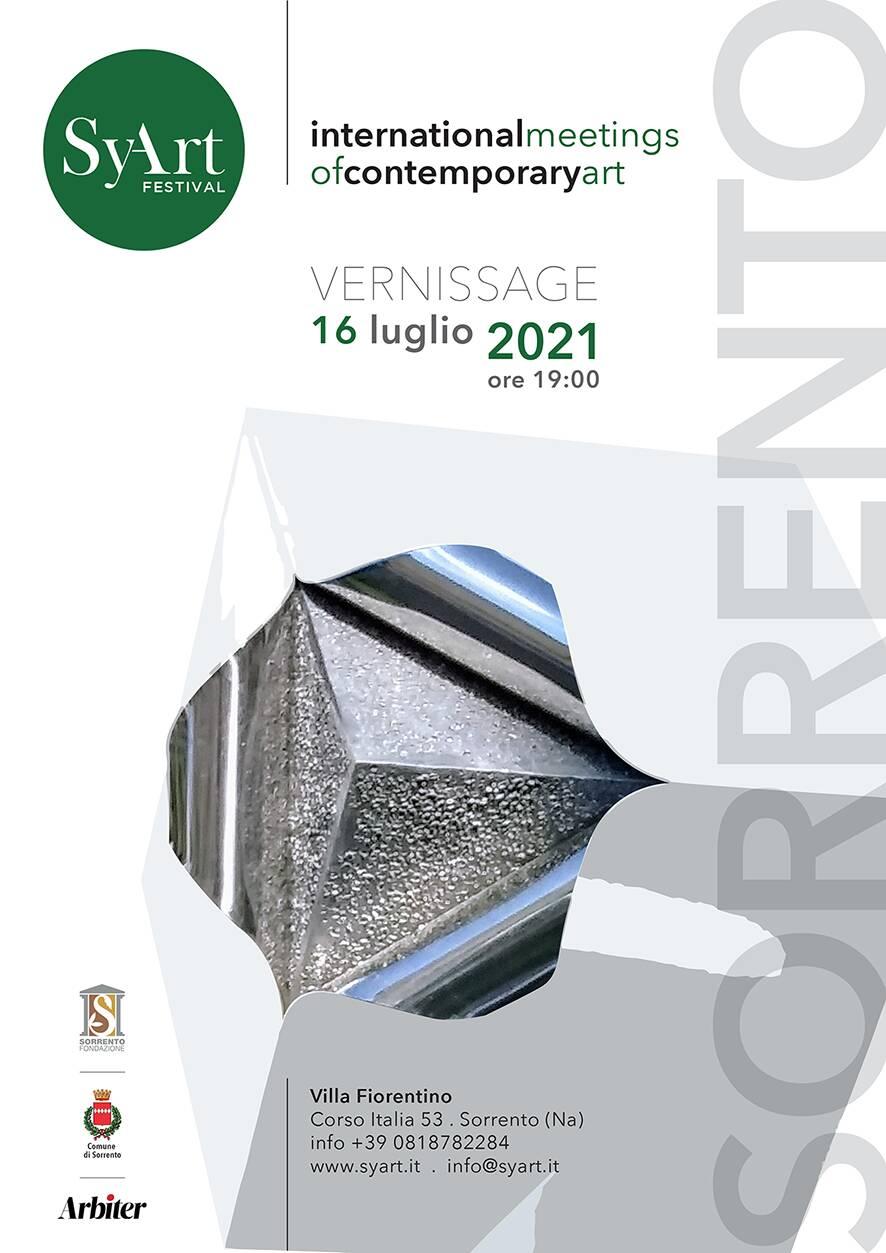SyArt Sorrento Festival: il 16 luglio alle 19 l'inaugurazione a Villa Fiorentino