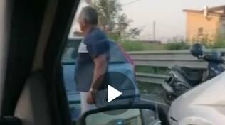 Tamponamento a catena sull'autostrada a Castellammare