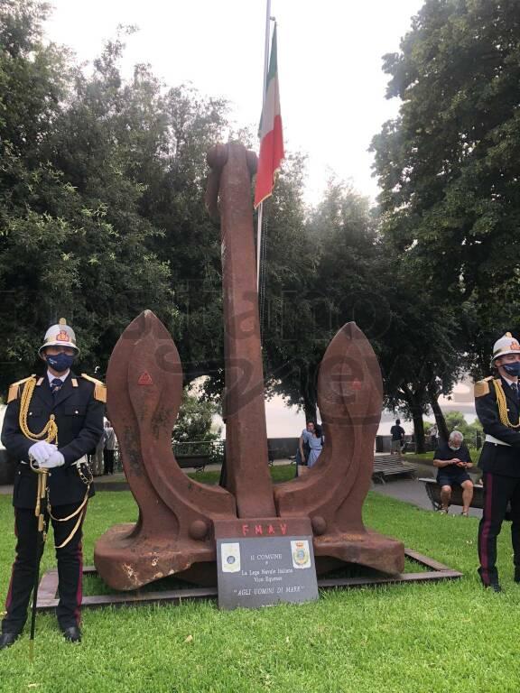 Vico Equense, cerimonia di apposizione dell'ancora emblema delle marinerie