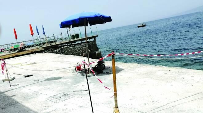 Vico Equense, la denuncia del Pd: «Spiagge libere sparite»
