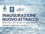Vietri sul Mare: domani l'inaugurazione del nuovo attracco alla Marina