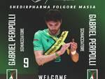 """Volto nuovo per la Folgore Massa, Gabriel Peripolli: """"Non vedo l'ora di iniziare. Il mio obiettivo è migliorarmi, e sono pronto a mettermi a disposizione del mister e della squadra"""""""