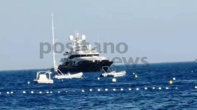yacht positano 21 luglio