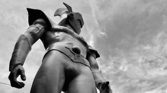 A Poggiomarino il 2 settembre si svela la scultura dedicata ad Actarus. I particolari