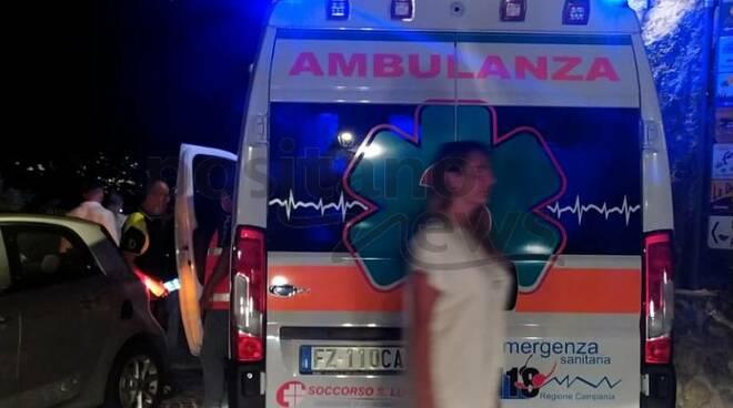 Ambulanza a Positano