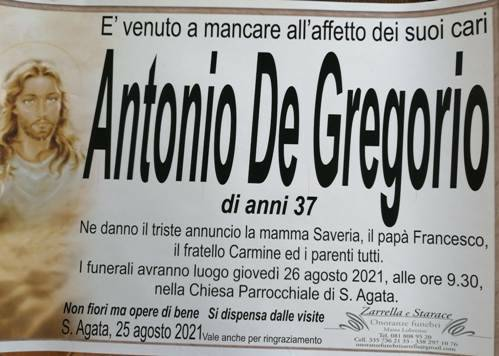 Antonio de gregorio massa