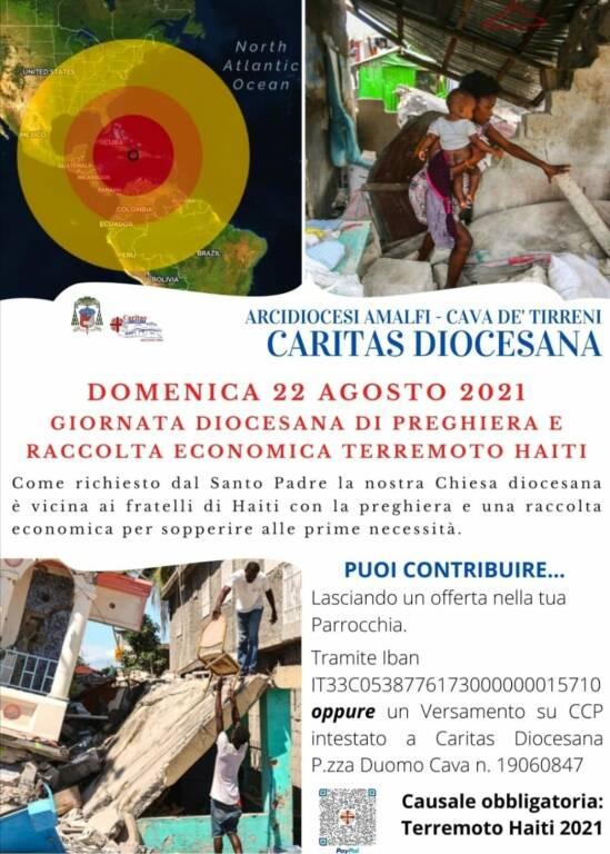 Arcidiocesi Amalfi/Cava de' Tirreni: giornata diocesana di preghiera e raccolta economica Terremoto Haiti