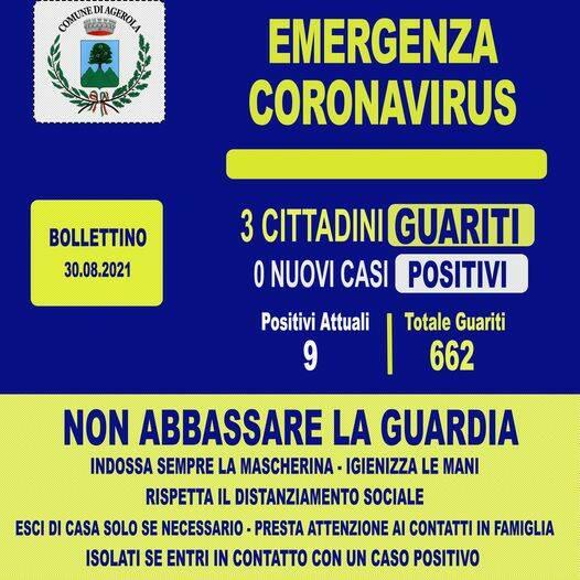 Buone notizie da Agerola che registra la guarigione di 3 cittadini dal Covid-19