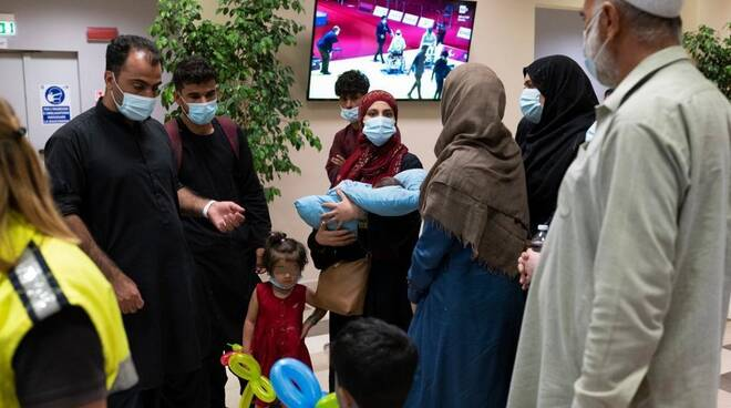 Campania accoglie famiglie da Kabul