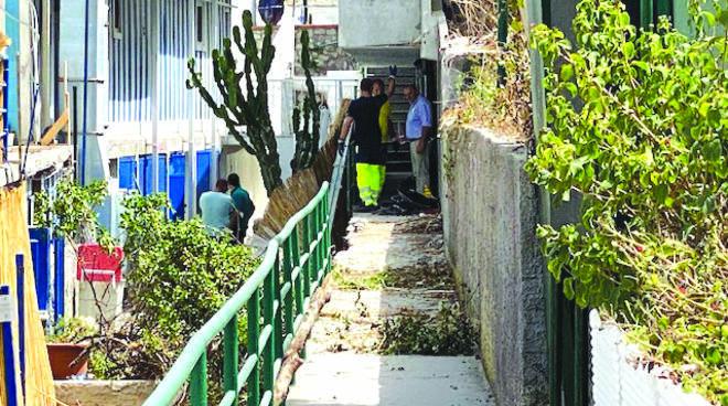 Capri: riaperta la strada della tragedia