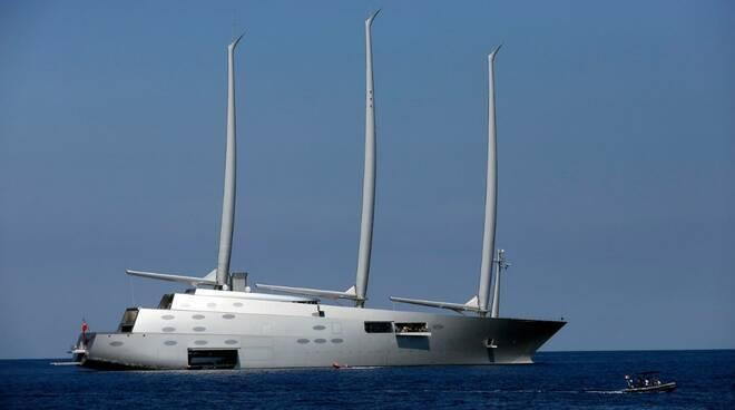 capri sailing yacht a