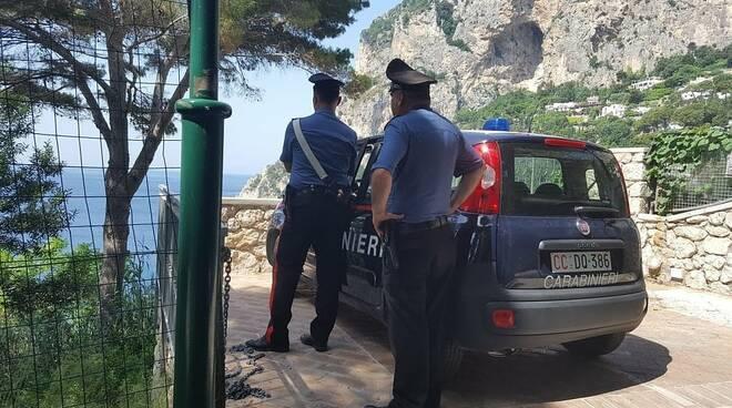 carabinieri capri