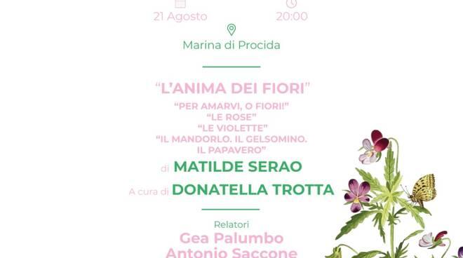 """Alla 61° Fiera del Libro di Procida la presentazione de """"L'anima dei fiori"""", opera riscoperta di Matilde Serao."""