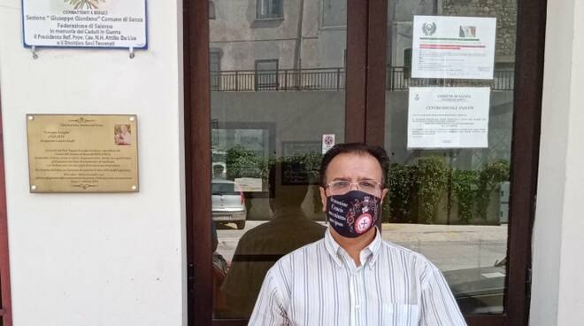 Comune di Sanza: targa commemorativa per 71° Anniversario sezione Associazione Nazionale Combattenti e Reduci Federazione di Salerno