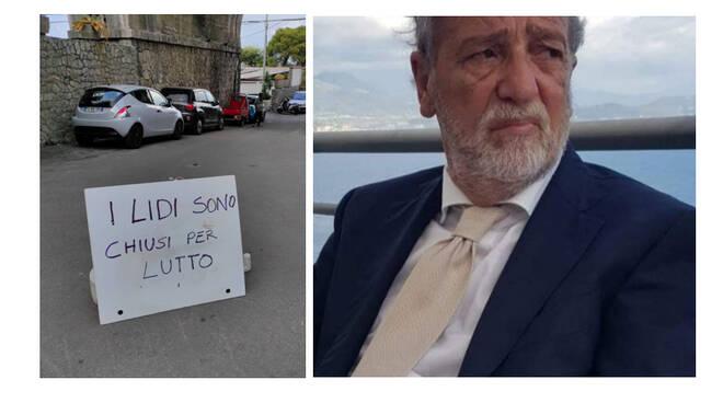 Castellammare di Stabia, lidi di Pozzano chiusi per lutto per la scomparsa di Gioacchino Vanacore