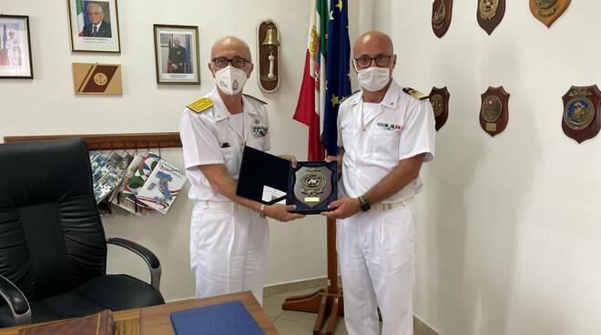 Castellammare, il comandante generale della Guardia costiera in visita ufficiale alla Capitaneria di porto stabiese