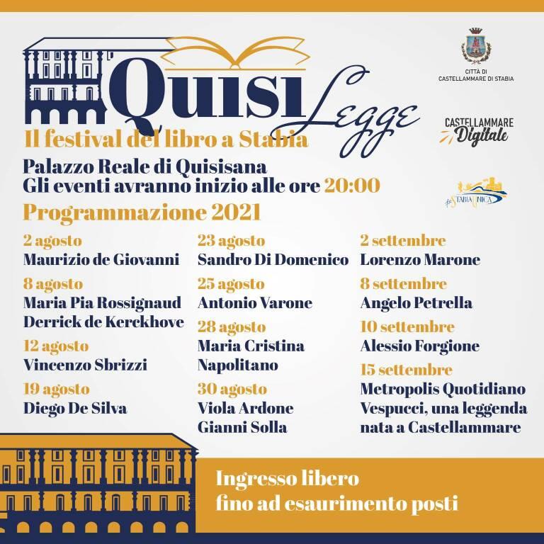 """Castellammare, ospiti a """"Quisilegge-Festival del Libro"""" a Stabia Maria Pia Rossignaud e Derrick de Kerckhove"""