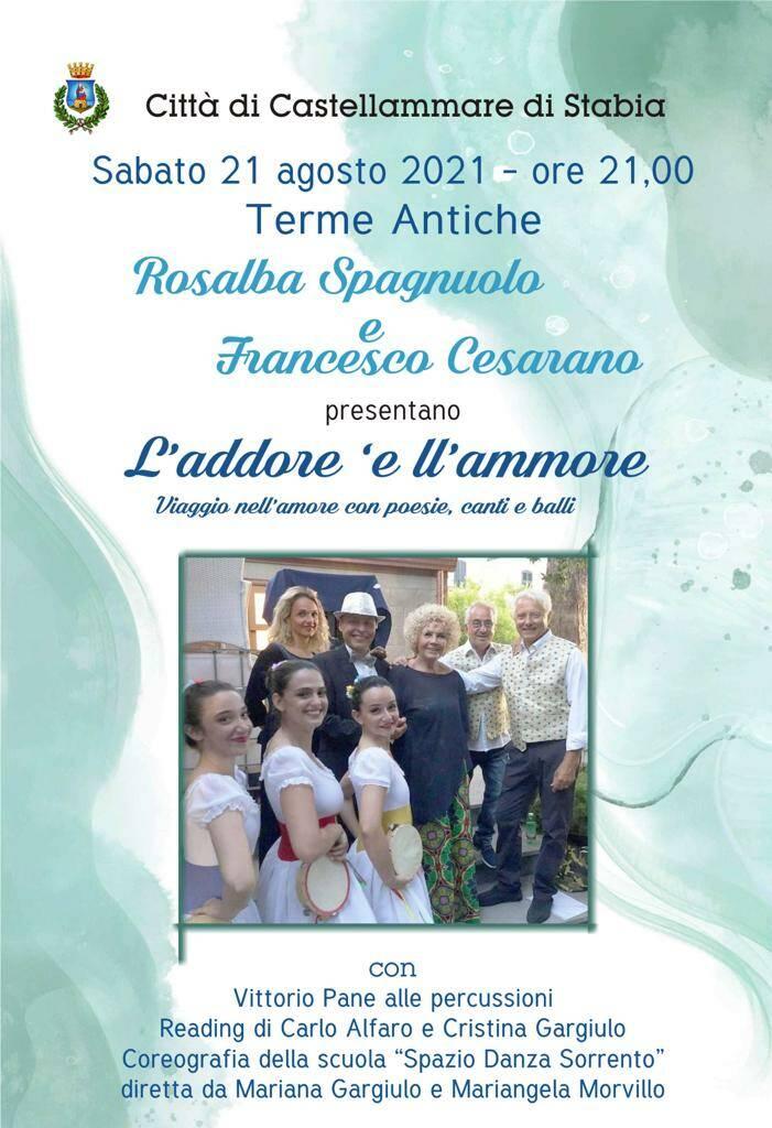 Castellammare: sabato 21 alle Antiche Terme la compagnia di Rosalba Spagnuolo