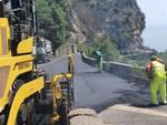 Costiera amalfitana, continuano i lavori di messa in sicurezza stradale