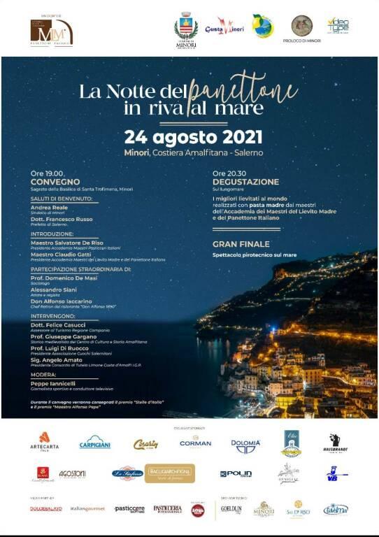 Entrano nel vivo gli eventi della 25esima edizione di Gusta Minori: domani la prima notte del panettone in riva al mare
