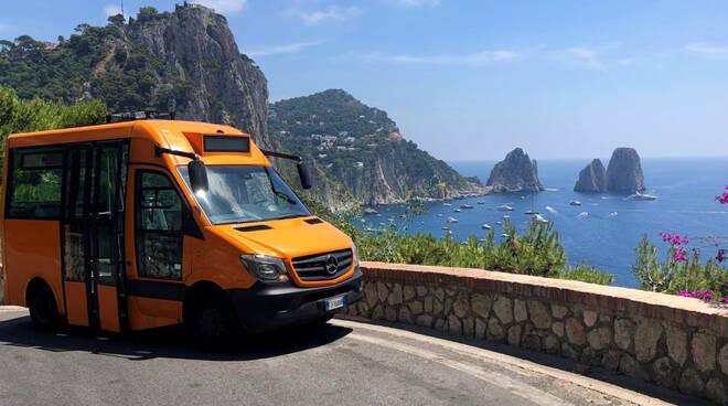 Federalberghi isola di Capri: bus ATC indegni,