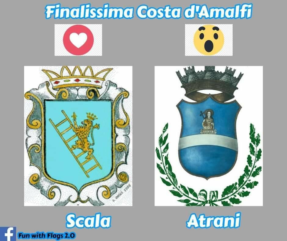 Fun with Flags 2.0: oggi la Finalissima tra Scala ed Atrani