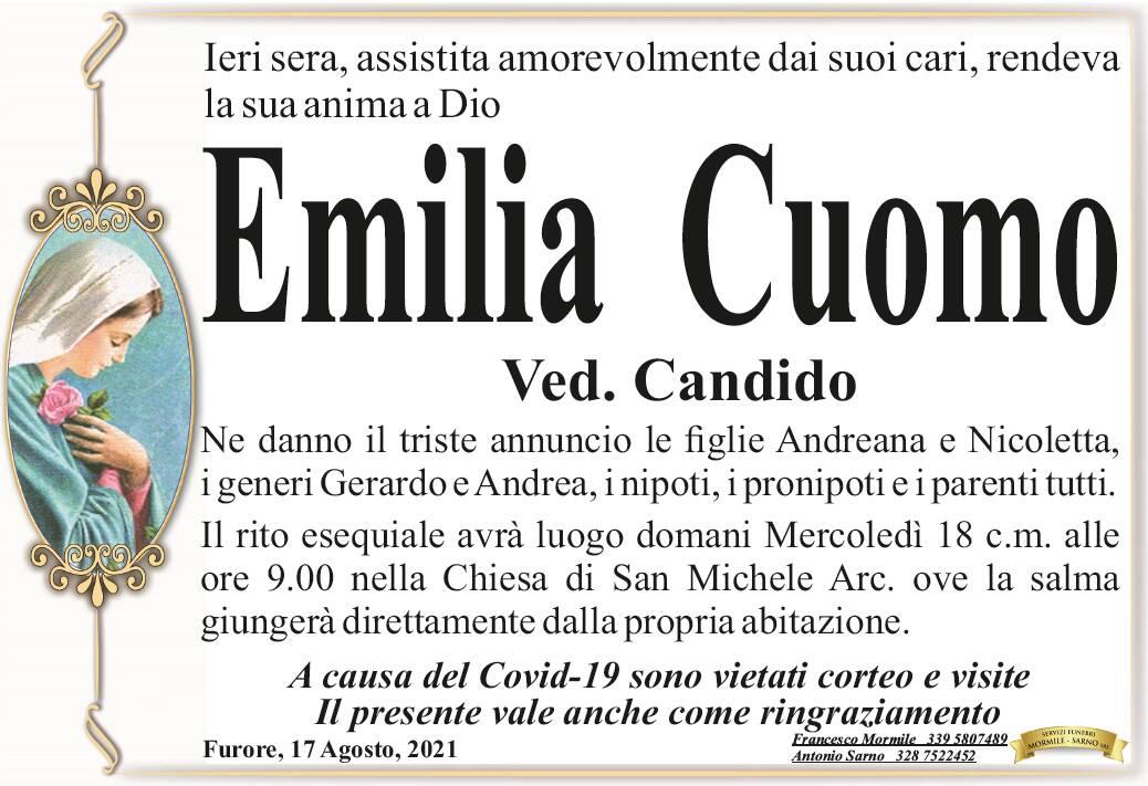 Furore in lutto: ci ha lasciati Emilia Cuomo, vedova Candido