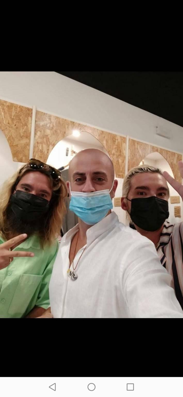 Heidi Klum e i Kaulitz dei Tokio Hotel scelgono di nuovo JP Boutique Amalfi