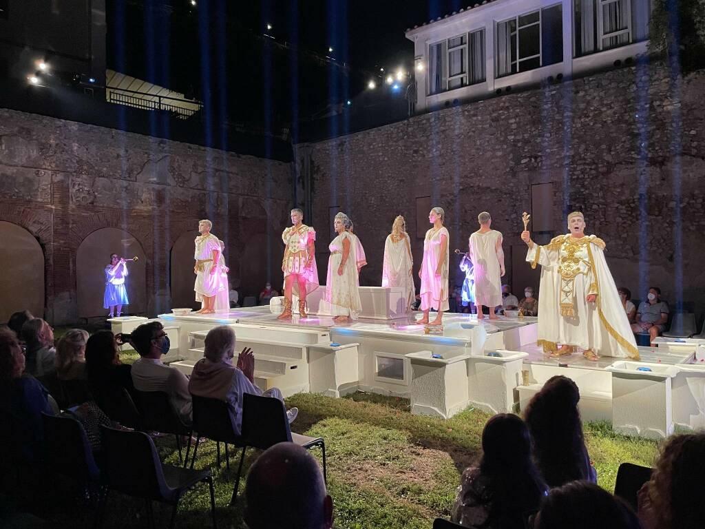 Ieri la serata conclusiva di Gusta Minori con Drama De Antiquis