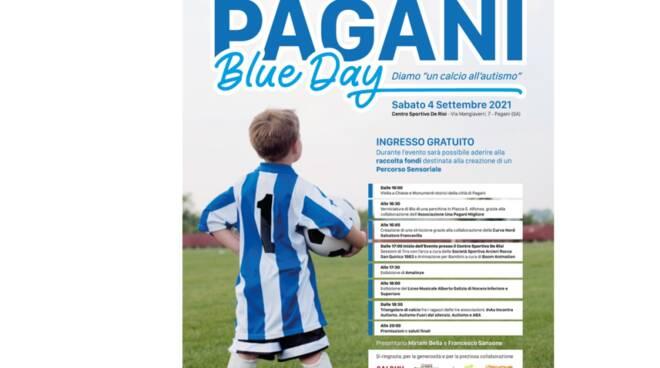 Il 4 settembre diamo un calcio all'autismo con il Pagani Blue Day