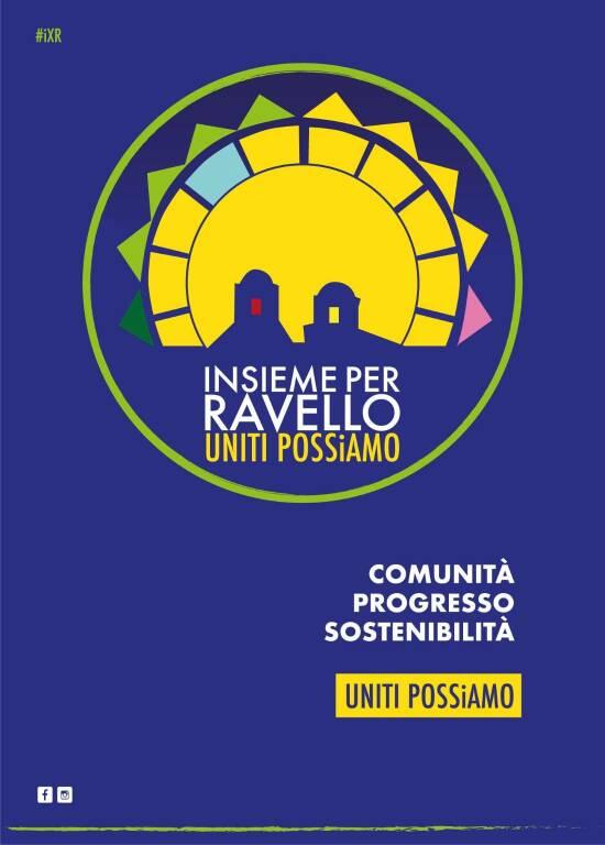 """Il nuovo logo di """"Insieme per Ravello"""": colori e geometrie del grande progetto che guarda dritto al futuro"""