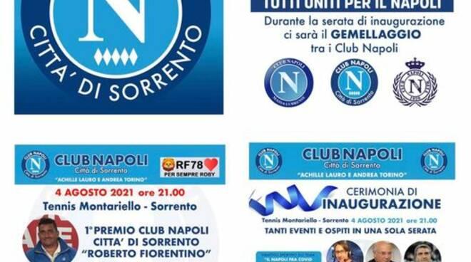 inaugurazione club napoli città di Sorrento