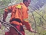 Incendio a Cesarano Tramonti Colibrì