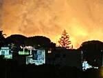 Incendio nella notte a Gragnano