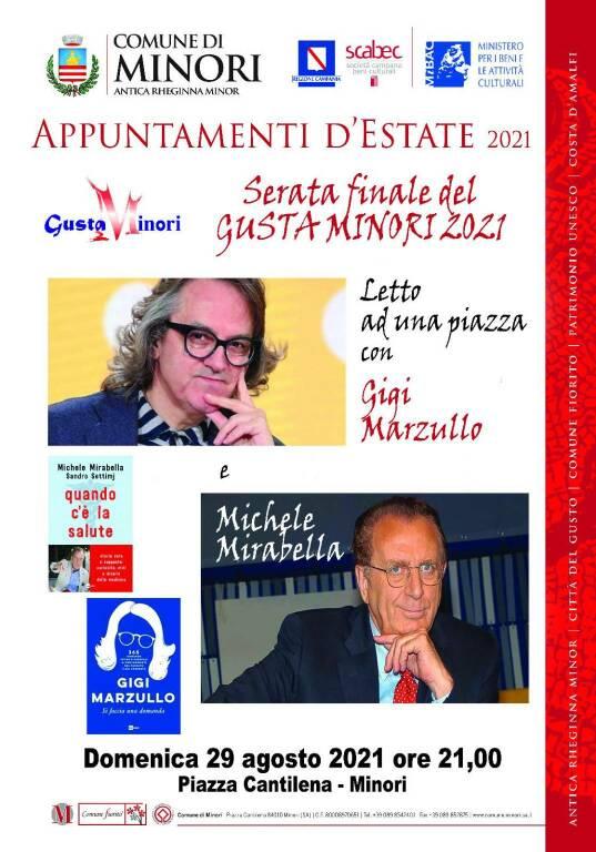 """La 25esima edizione di GustaMinori giunge al termine: Gigi Marzullo presenterà il suo libro """"Si faccia una domand"""