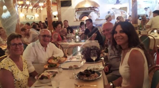 lisa e Mario Ciampini chez black