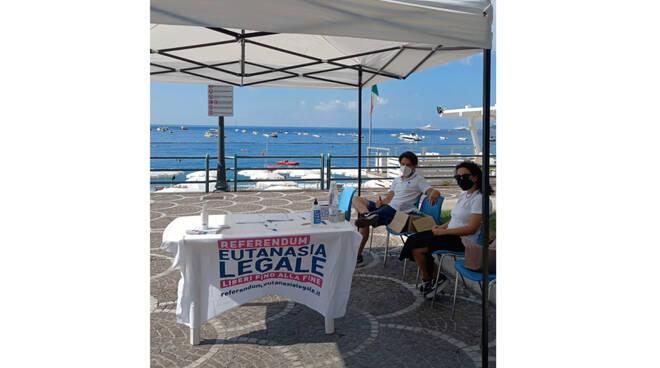 """Maiori, il Forum dei Giovani: """"Ieri raccolte 272 firme in 8 ore a sostegno del referendum Eutanasia Legale»"""