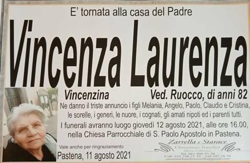 Massa Lubrense, la frazione di Pastena in lutto per l'82enne Vincenza Laurenza (Vincenzina), vedova Ruocco