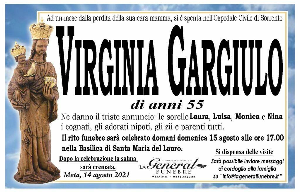 Meta piange la perdita di Virginia Gargiulo