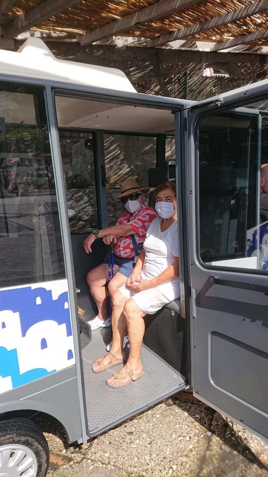 minibus positano