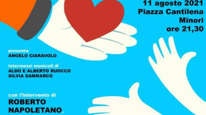 Minori: mercoledì 11 agosto la serata dedicata agli operatori della sanità, del volontariato e delle forze dell'ordine