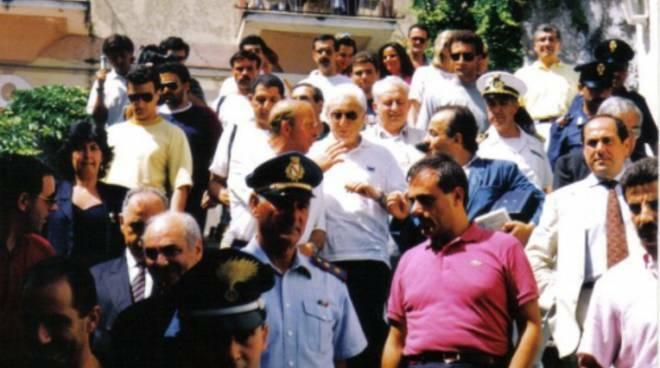 Oggi ricorrono 11 anni dalla scomparsa di Francesco Cossiga. Il ricordo della sua visita a Positano nel 1991
